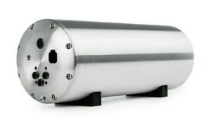 Accuair Endo Vt 3 Gallon Gray Aluminum Air Tank With 2 Corner Valves Inside