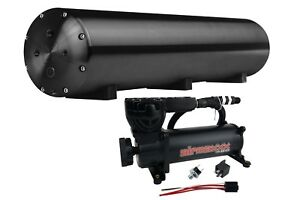 Accuair Endo t Aluminum Air Tank 30 5 Gallon Black Airmaxxx 580 Air Compressor