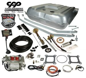 55 56 Belair Fitech 30003 Ls Efi Fuel Injection Gas Tank Conversion Kit 90 Ohm