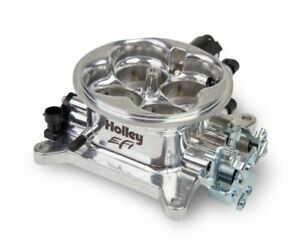 Holley Efi Universal 1000cfm 4bbl Throttle Body 4150 Flange Polished 112 588