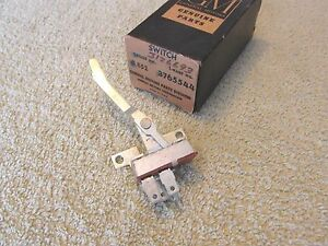 Nos 1960 63 Chevy Pick up Truck C10 C20 Heater Motor Control Switch Gm 3765544
