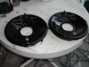 Model A Ford Front Backing Plates And Brakes