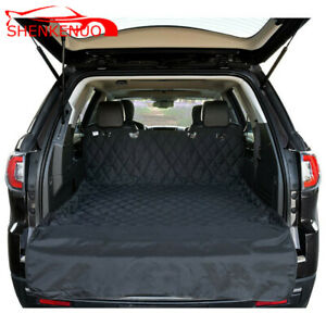 Car Suv Trunk Pet Pad Non Slip Dog Cat Pet Sleeping Protector Waterproof Black