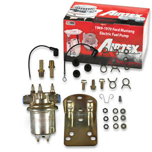Airtex Electric Fuel Pump For 1969 1970 Ford Mustang 5 0l V8 Gas Fuel Tank Wc