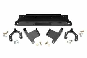 Rough Country Factory Bumper Winch Mounting Plate 07 18 Jeep Wrangler Jk 4wd