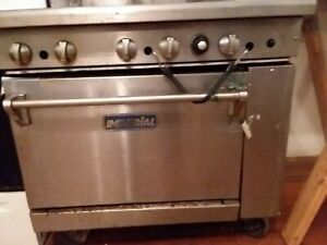 Imperial Commercial Stove 6 Burner