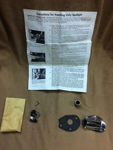1964 1967 Chevelle Tempest Unity Nos Lh Spotlight Mounting Bracket 181l Kit