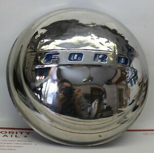 Vintage Ford Dog Dish Hubcap 1947 1948 1949 1950 1951 1952 1953 1954 8 9 1 2 In
