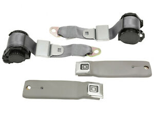 1978 1982 Corvette Gray Replacement Seat Belt