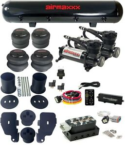 1965 70 Impala Air Ride Kit 480 Black Compressors Tank Accuair Vu4 Switchspeed