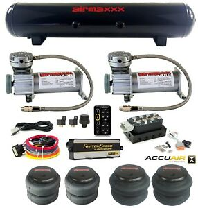 Accuair Vu4 Manifold Switchspeed Control 400 Pewter Air Compressors Steel Tank