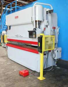Pacific Cnc Press Brake 165 Tons X 10 Ft Hurco 2 Axis Backgauge