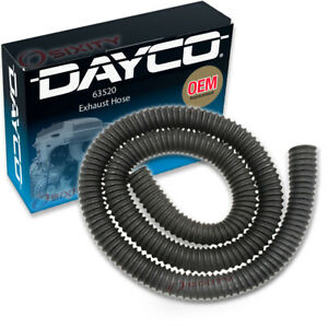 Dayco 63520 Exhaust Hose Dynamometer Vent Central Garage Exhaust Ik