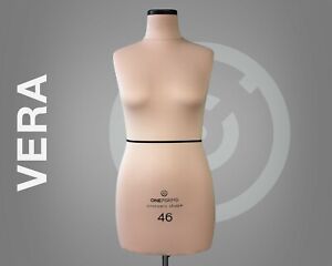 Soft Dress Form Professional Anatomic Sewing Mannequin Pinnable Tailor Dummy