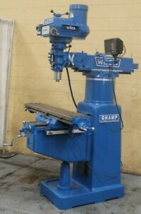 3 Hp Webb Model Champ Vertical Mill Yoder 63641