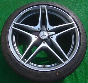 4 New 2018 Genuine Oem Factory Mercedes Benz Amg C63s C63 S 19 Inch Wheels Tires
