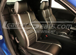 2009 2012 Dodge Se Rt Challenger Leather Seat Covers