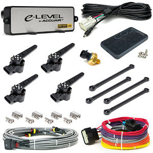 Accuair E Level Air Suspension Leveling Kit Electronic Air Bag System Gray