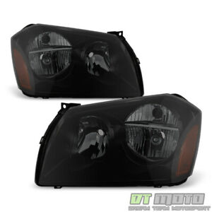 Black Smoke 2005 2007 Dodge Magnum Se Srt Sxt Rt Headlights Headlamps Left Right