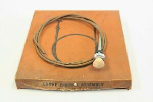 Nos Dorman Car Truck Choke Cable W Swirl Knob Chevrolet Ford Mopar Accessory