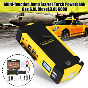 82800mah Car Jump Starter Portable Power Bank Pack Charger Booster Battery