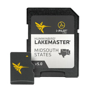 Humminbird Lakemaster Midsouth States v5 600009-9 Hummingbird Version 5