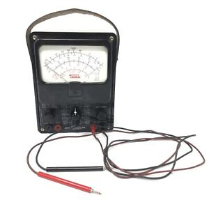 Eico Model 566 Volt Ohm Meter Includes Red Black Leads
