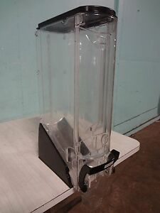 trade Fixtures Commercial Acrylic Coffee Bean candy grain Display Dispenser