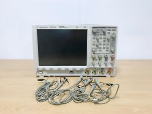 Agilent Dso7104b 1ghz 4gs s 4ch Oscilloscope With 10073d Probes