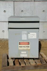 Hammond Power 75kva Transformer Lv 208y 120v Nmk075kbah3
