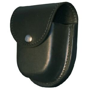 Boston Leather 5512 2 Black Double Police Tactical Duty Cuff Handcuff Holder
