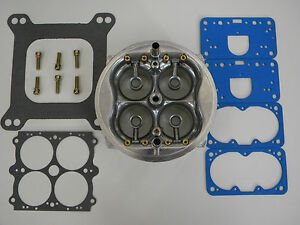 Holley Qft Aed Ccs 1050 Cfm Hp Main Body Retro Fit Kit 25 50 More Hp 6 1050qft