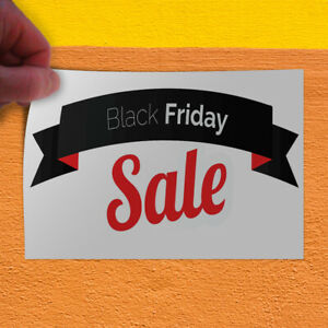 Decal Sticker Black Friday Sale Business Style S Retail Outdoor Store Sign