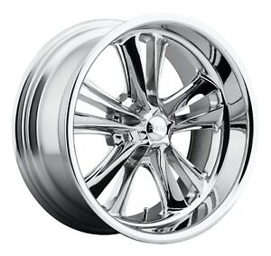 Cpp Foose F097 Knuckle Wheels 17x7 18x9 5 Fits Ford Mustang Falcon Galaxie