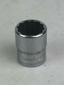 Snap On Tmmd14 14mm 12pt 1 4 Drive Shallow Socket Nice