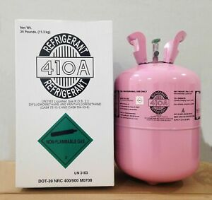 R410a R 410a Refrigerant 25lb Tank New Factory Sealed lowest Price On Ebay