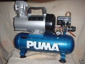 Puma 1006 12 Volt Hot Dog 1 5 Gallon Oil Less Air Compressor Free Shipping
