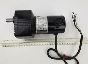 Bodine 24a2bepm d3 Dc Motor Gearmotor 1 29 Hp 12 1 208 Rpm 130 Volts Electric