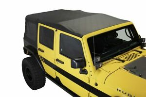 10 18 Jeep Wrangler Jku 4 Door Premium Replacement Soft Top With Tinted Windows