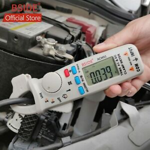 Bside Acm91 Ac dc Car Digital Clamp Meter Auto range Ncv Temp Low Current T rms