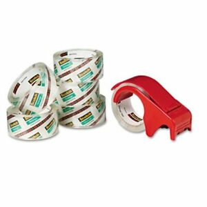 3m Moving Storage Tape 1 88 X 54 6 Yard 3apos Core Clear 6 Rolls