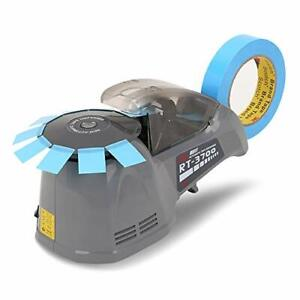 Electric Adhesive Tape Cutter Machine Rt 3700 Carousel Automatic Tape Dispenser