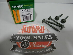Spax Screws Made In Usa 5 16 X 3 Washer Head Star Drive Exterior