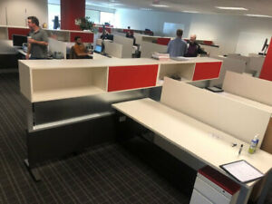 Used Office Cubicles Herman Miller Canvas 6x6 5 Cubicles