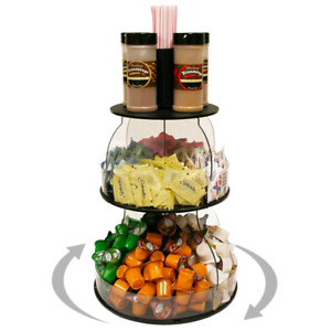 Coffee Condiment Organizer 12 W X 16 H Plus Comes With Removable Stirrer On 8