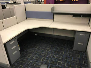 Used Office Cubicles Herman Miller Ao3 8x6 Cubicles