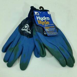 Wells Lamont Work Hydra Hyde Cold Weather Waterproof Nitrile Coated Gloves L New