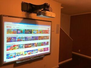 Interactive Smart Board Sb660 Smart Ux60 Dlp Ultra Short Throw Projector