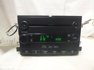 04 05 06 07 Ford F150 Mustang Freestyle Montego Radio Cd 5l3t 18c869 Ac Jan03