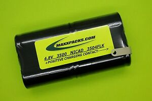 Two New 3500ma Battery For Fluke Scopemeter 95 96 96b 97 98 99b Made In Usa